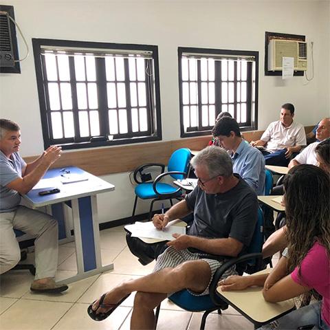 Reunião da Diretoria do Sicomércio Angra com Empresários e Comerciantes