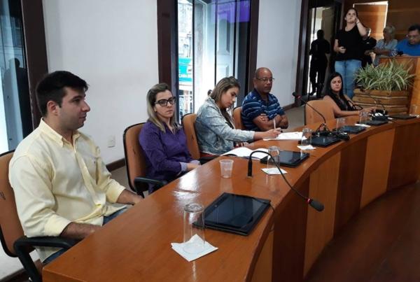 Representando os empresários, o Sicomércio Angra dos Reis participou da audiência pública realizada na Câmara Municipal de Angra dos Reis para debater serviços prestados pela empresa Enel.
